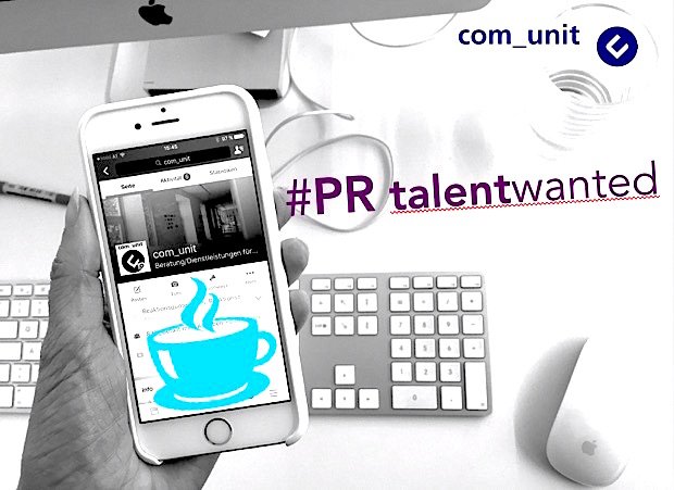 com_unit sucht #PR Talents – Best Coffee included